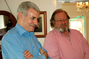 Peter Geyer with John Moore